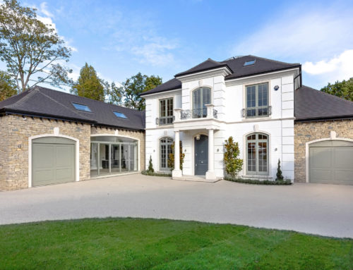 Award-winning Oxshott new build
