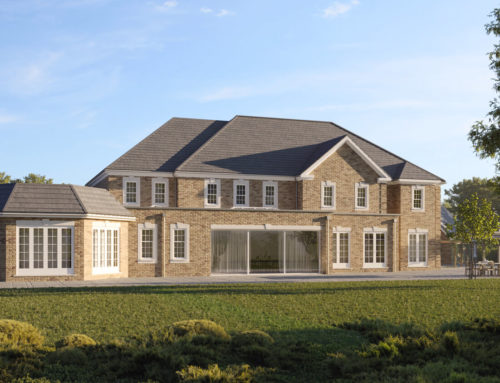 A spectacular remodelling in Windlesham!